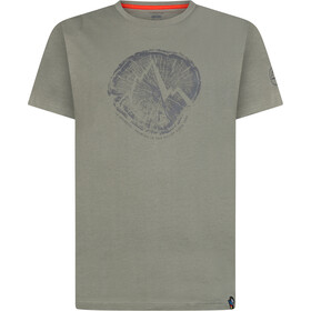 La Sportiva Cross Section Camiseta Hombre, clay